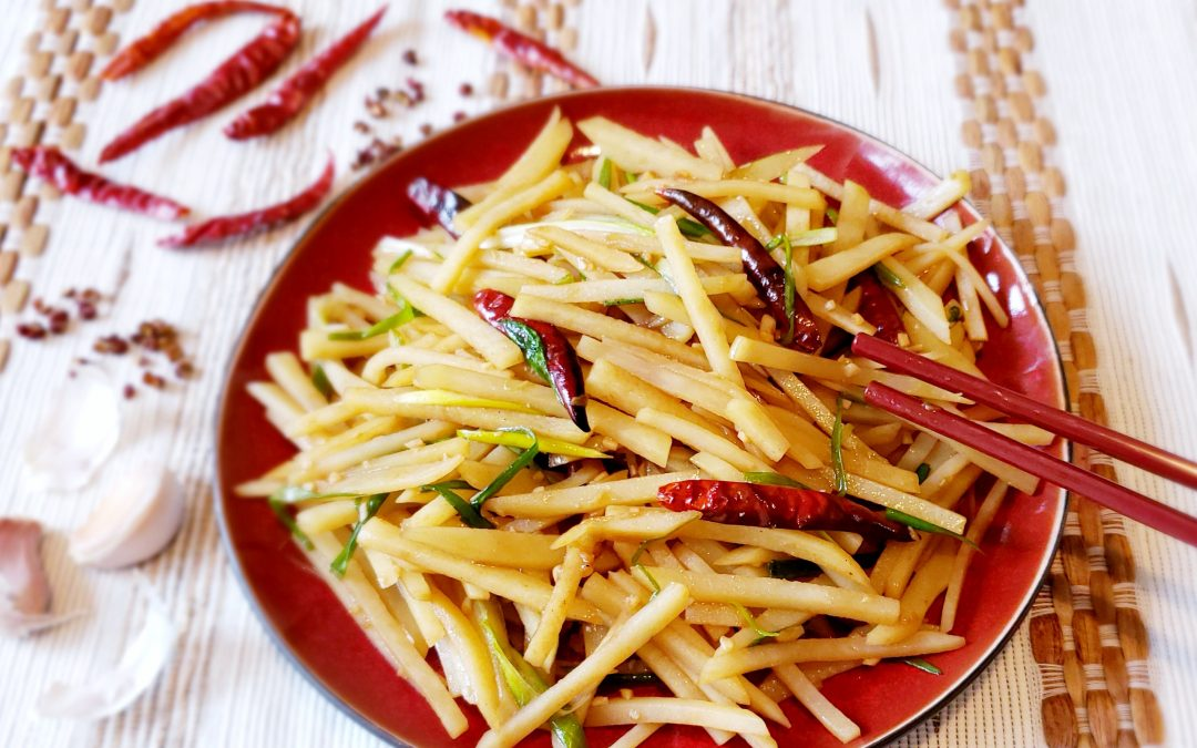 Homestyle Szechuan Shredded Potatoes