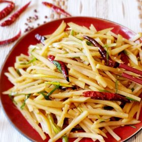 Homestyle Szechuan Shredded Potatoes