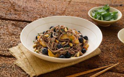 Blueberry Soba Noodle Salad