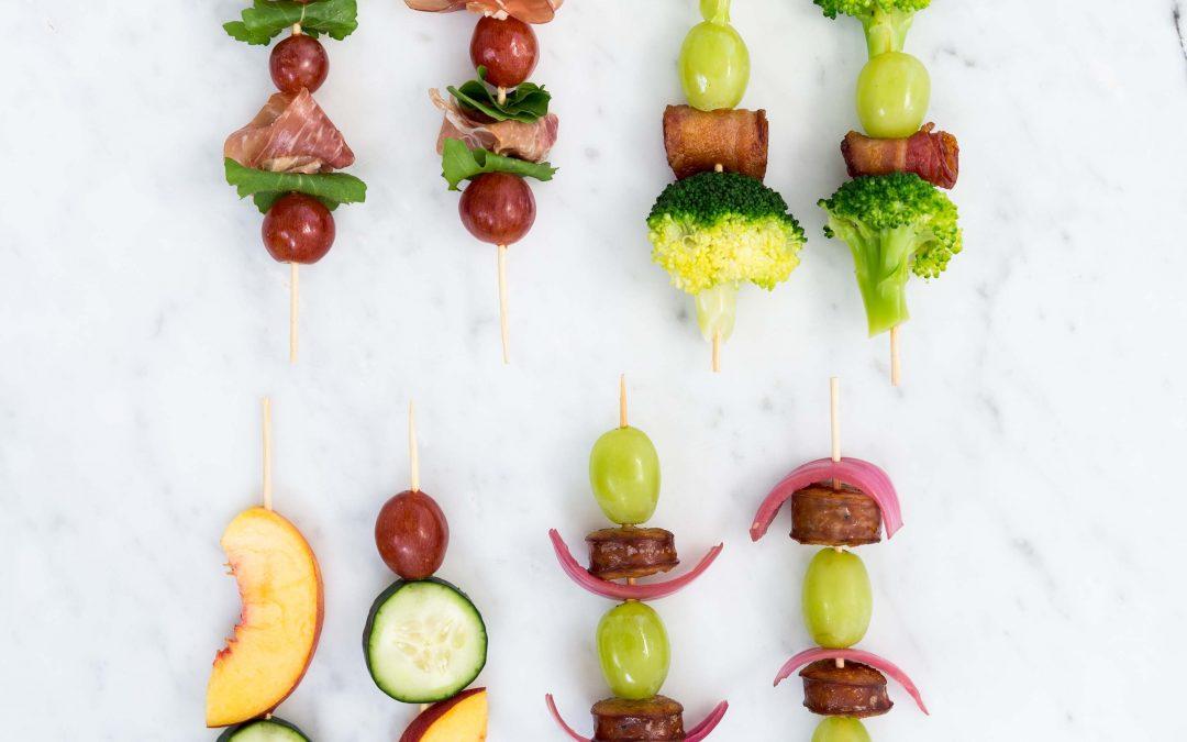 Fun Grape Skewers