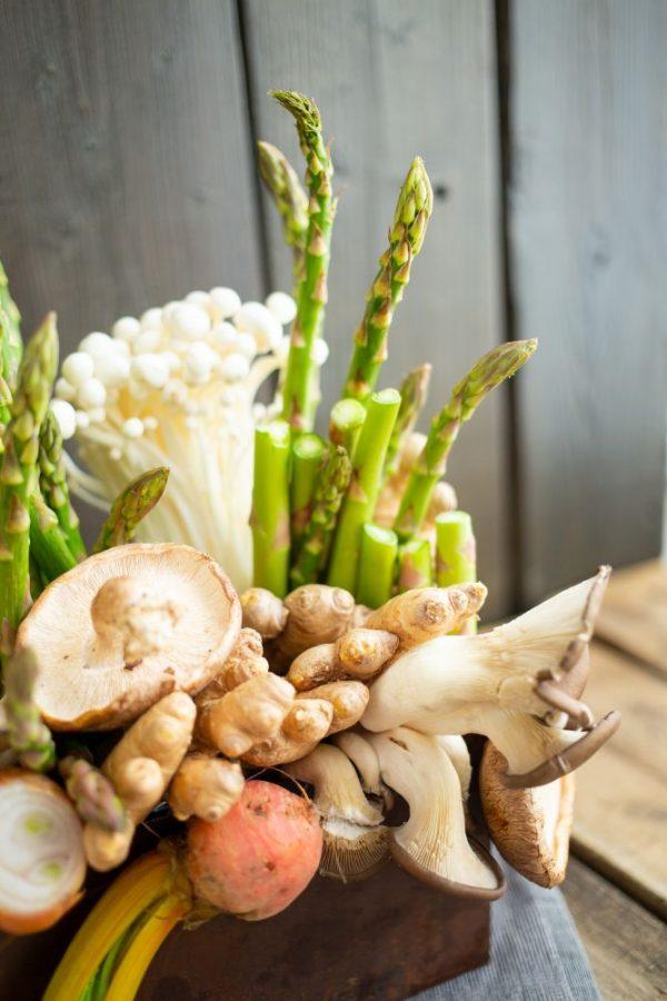 Asparagus Centerpiece Close UP