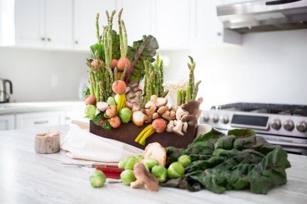 Asparagus Centerpiece
