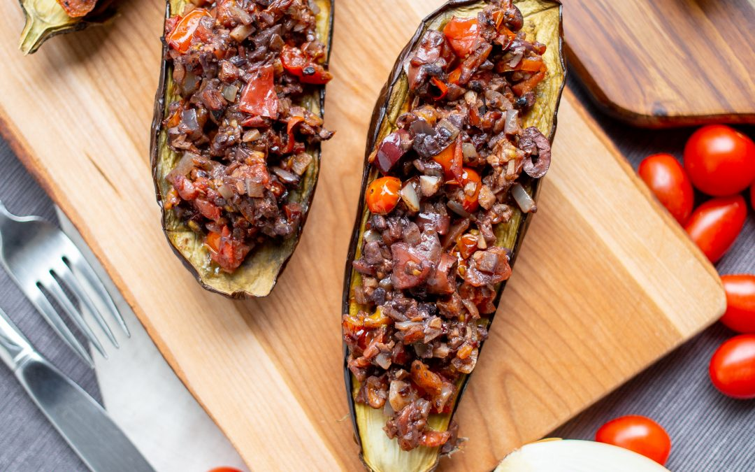 Plant-Based Bolognese with Eggplant