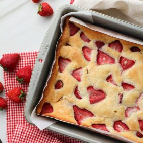 Strawberry Snacking Cake