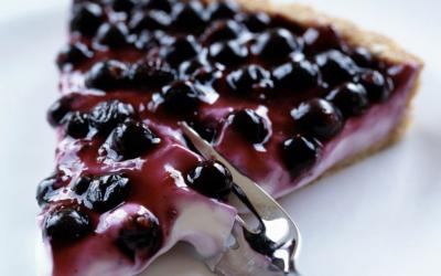 Ontario Blueberry Ice Cream Pie