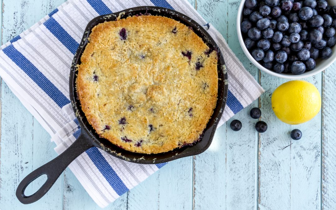 Ontario Blueberry Lemon Crisp