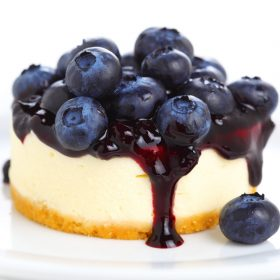 Ontario Blueberry Cheesecake