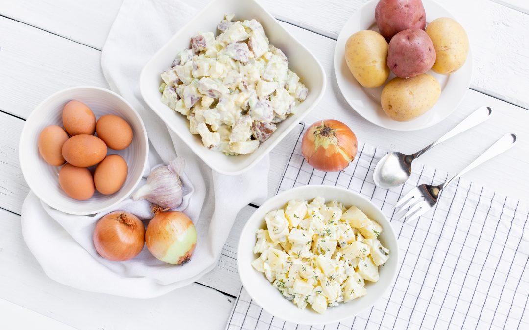 Classic Potato Salad – Two Ways!