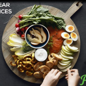 Pear Snack Board Suppers - Three Ways