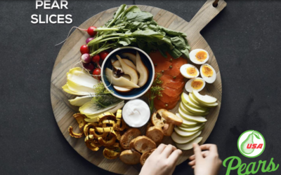 Pear Snack Board Suppers – Three Ways