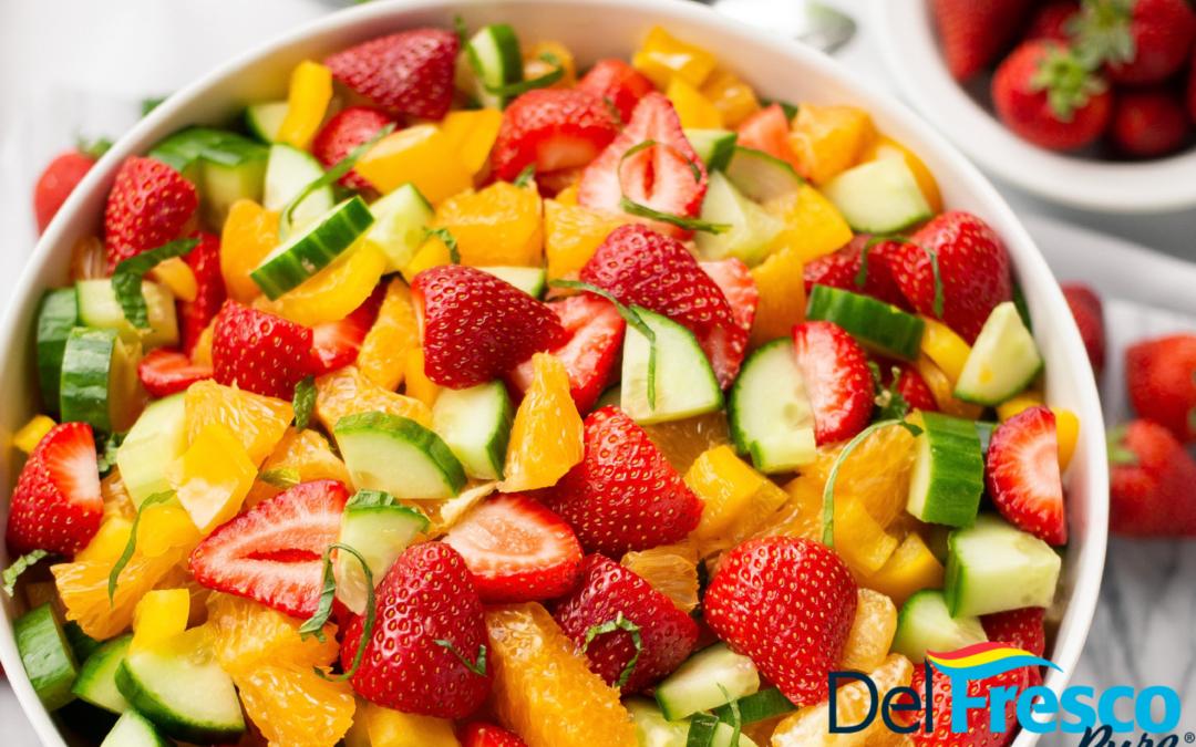 Strawberry Citrus Salad
