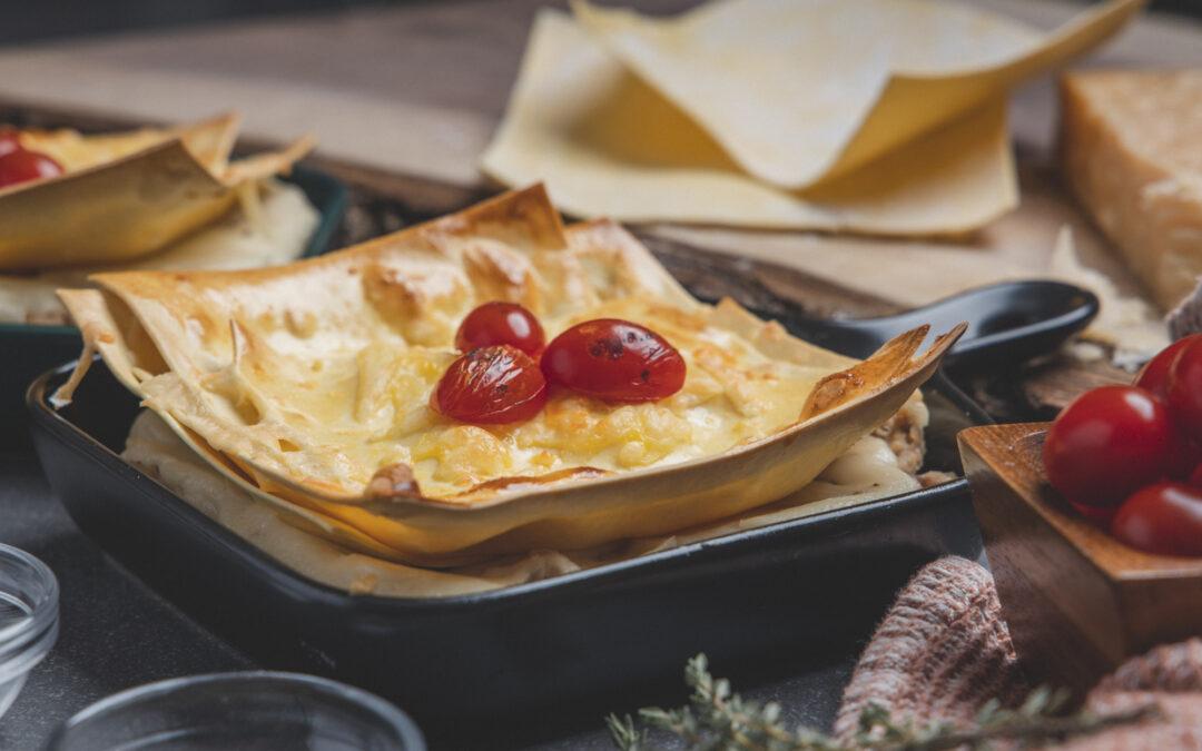 Tomato Skillet Lasagna