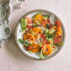 Cucumber Citrus Salad