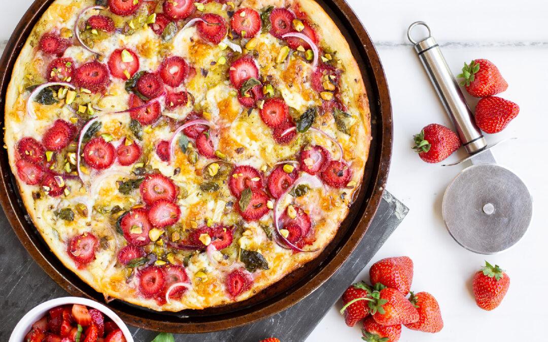 Strawberry Brie Pizza