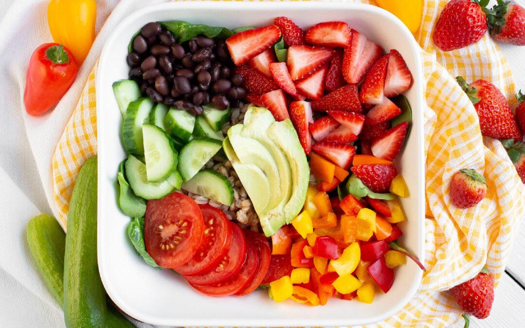 Hearty Strawberry Grain Bowl