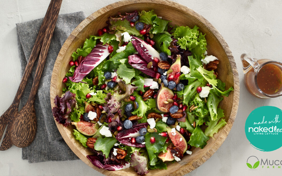 Mucci Farms Naked Leaf Winter Fig Salad