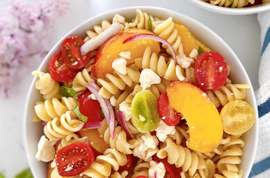 Nectarine Pasta Salad